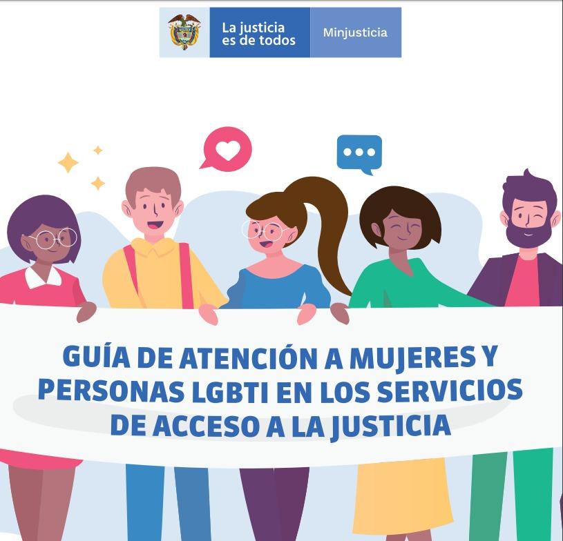 Minjusticia presenta guía de atención de acceso a la justicia con enfoque de género